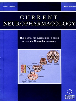 Cover by Anne Lesage for Current Neuropharmacology